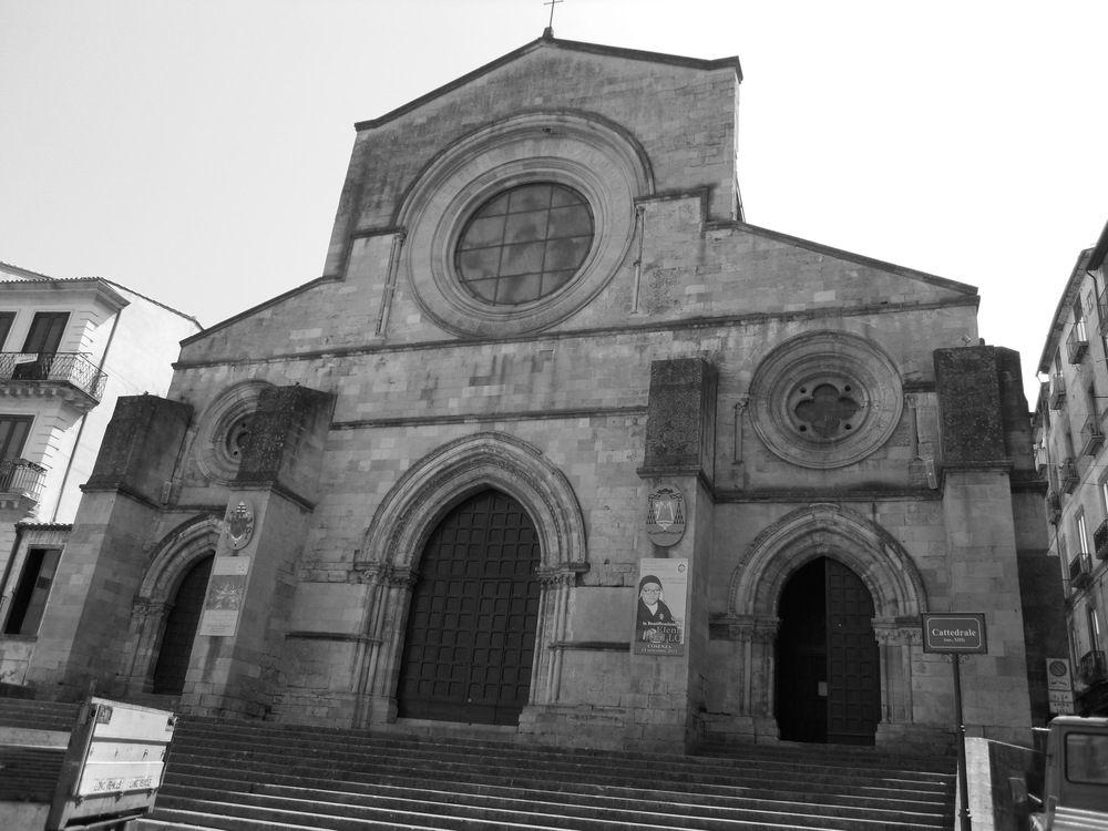 The Cathedral in Cosenza - Italy where the Posteraro familymigratedfrom.