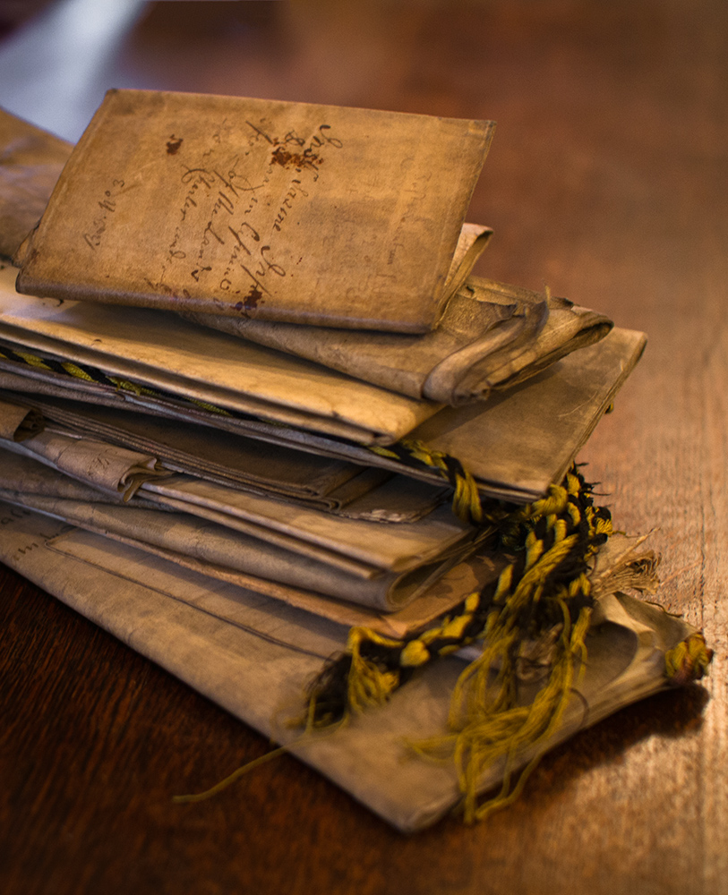 Duchray Castle's  Ancient  Parchment Deeds