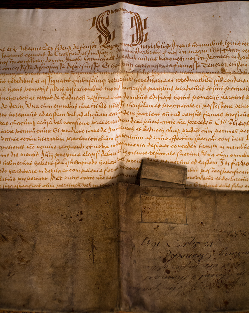 Duchray Castle Deeds from 1647
