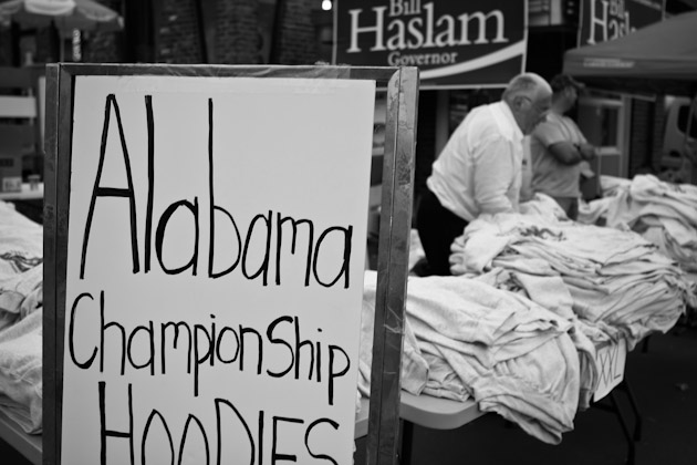 Tennessee vs Alabama 2010