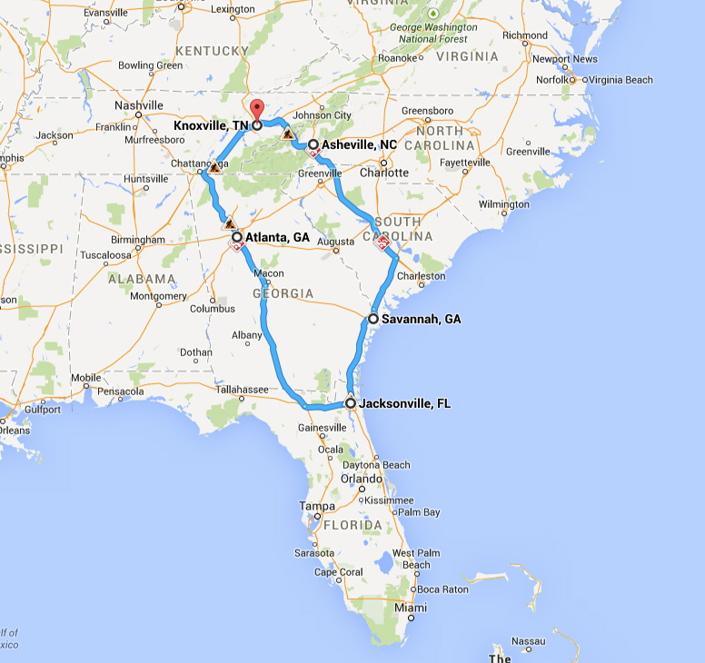 2015TaxSlayerBowlRoute