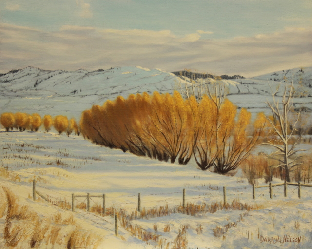 'Winter Willows'