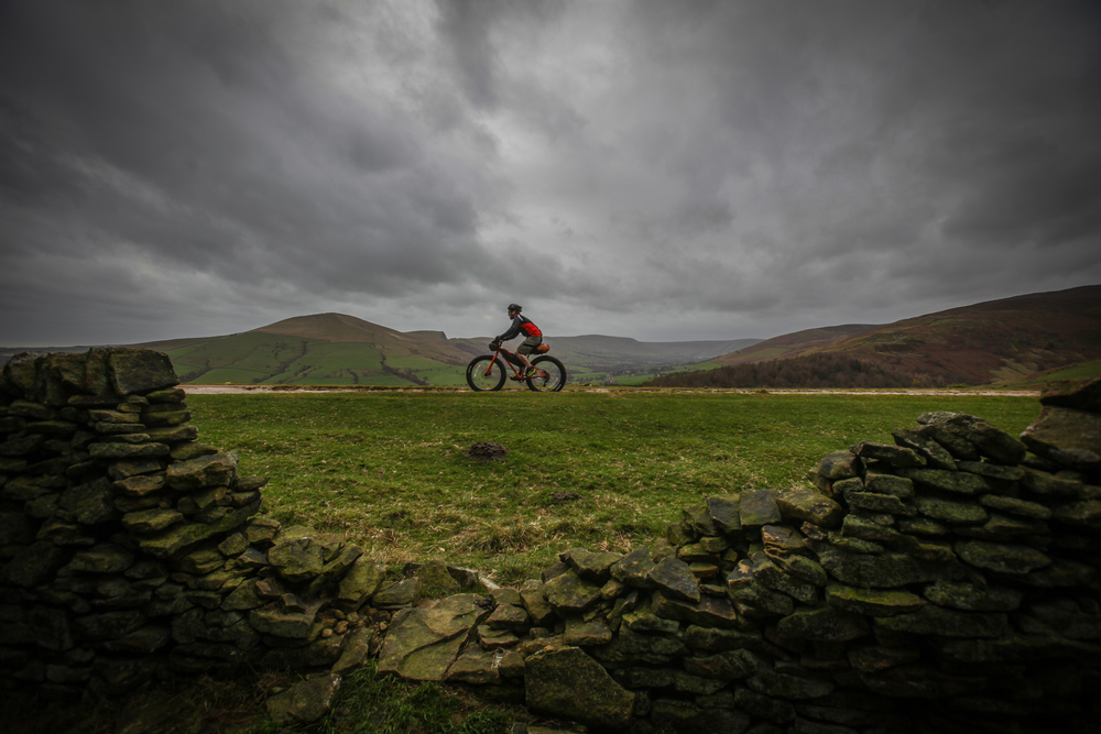 Great British MINI Adventure Day 2 - Fat Biking around Mam Tor in the Peak District