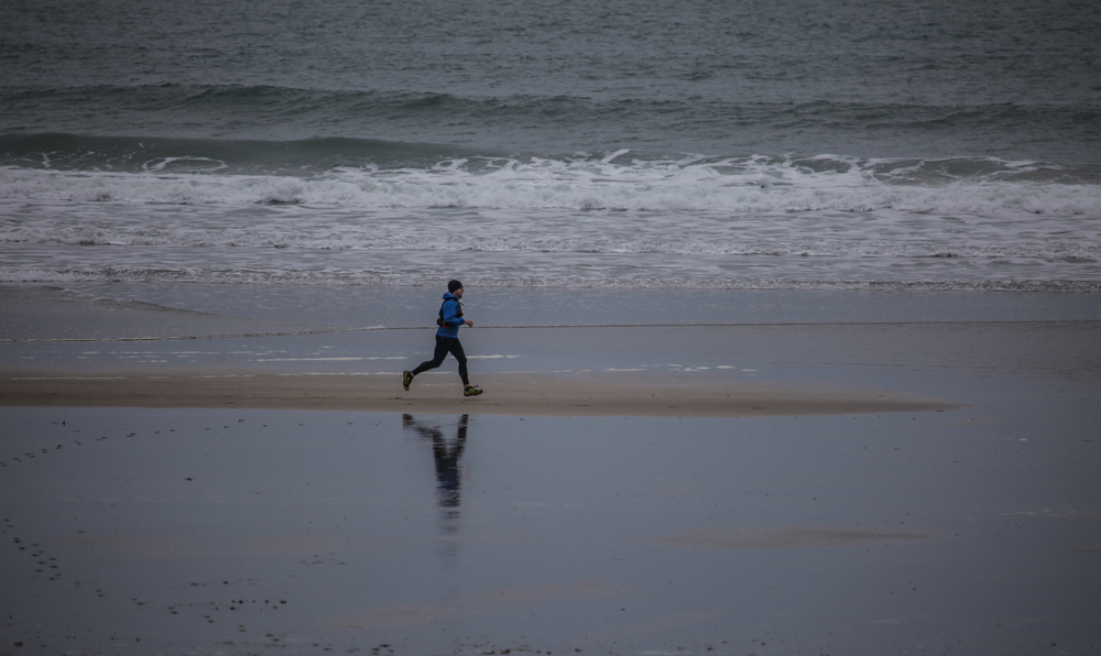 Great British MINI Adventure Day 10 - Trail Running the Pembrokeshire Coast, Whitesands Bay
