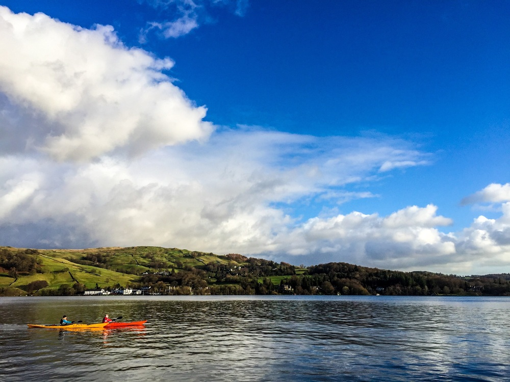 Great British MINI Adventure Day 7 - Bright Weather on Windermere