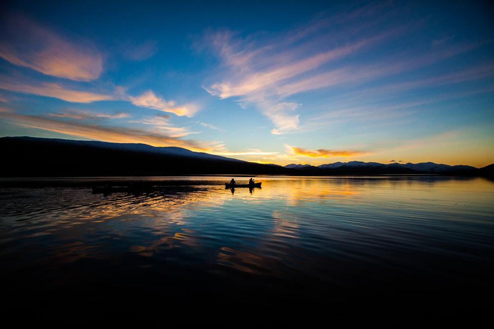 Outward Bound - Canoeing Loch Eil, Scotland