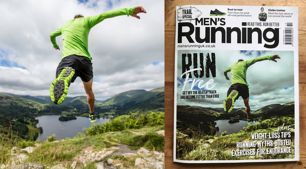 Men's Running October 2017 Front Cover