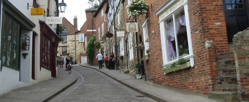 The view up Steep Hill by The rest. The Best Street in Britain 2012.