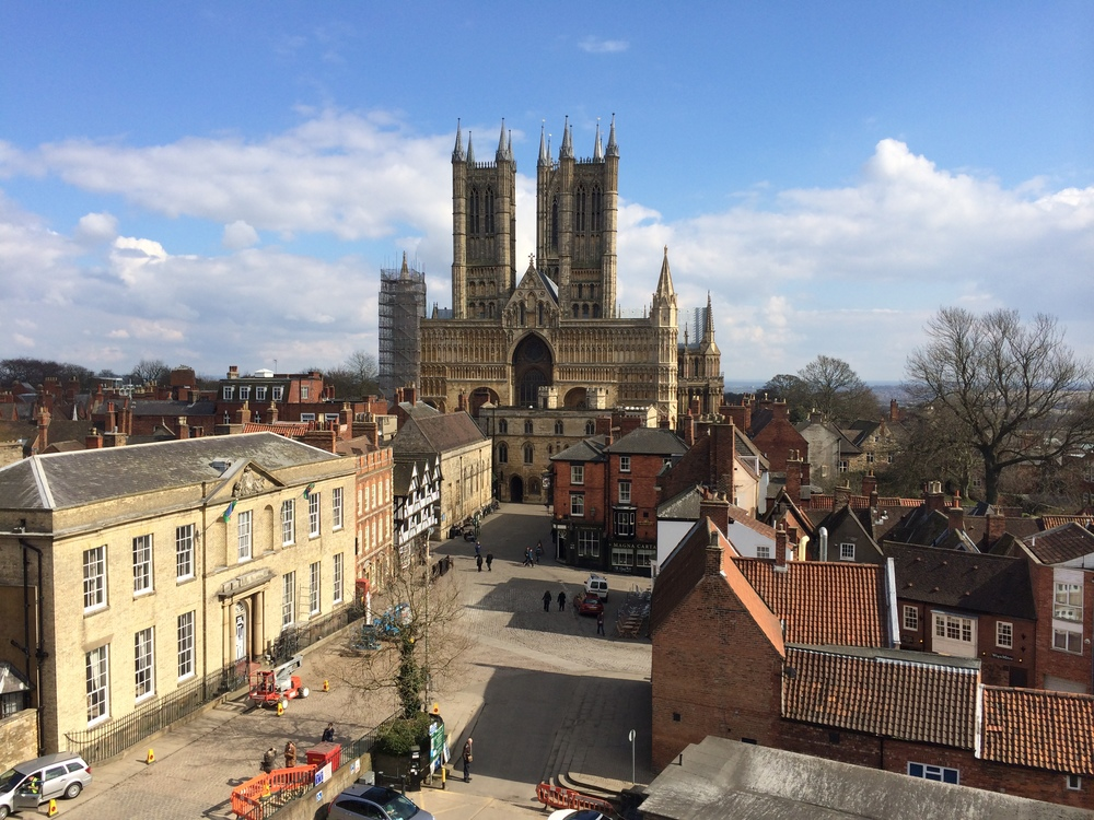 Castle Square to Lincoln Cathedral