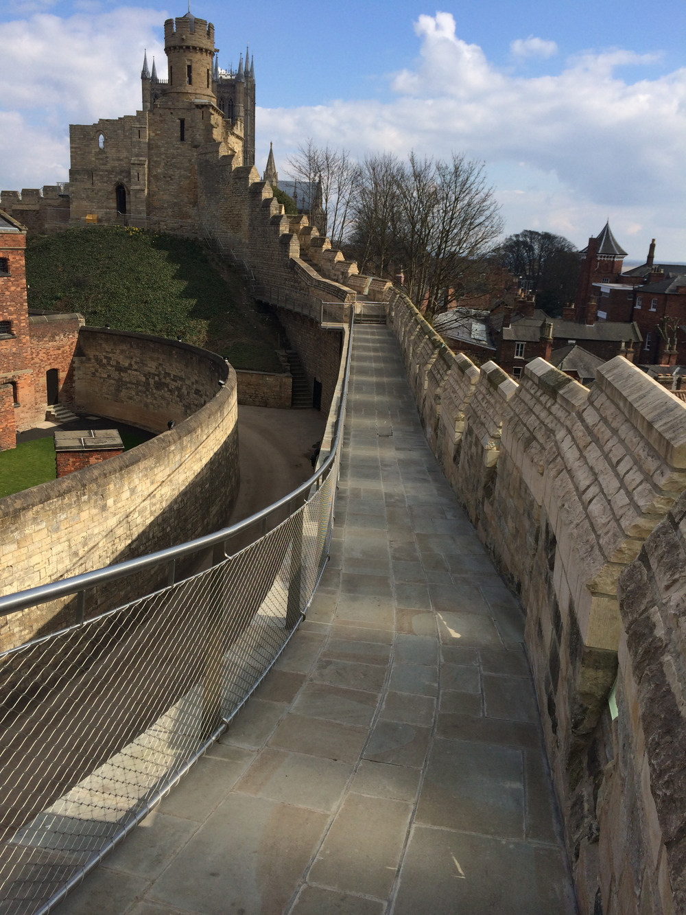 Lincoln Castle Walls