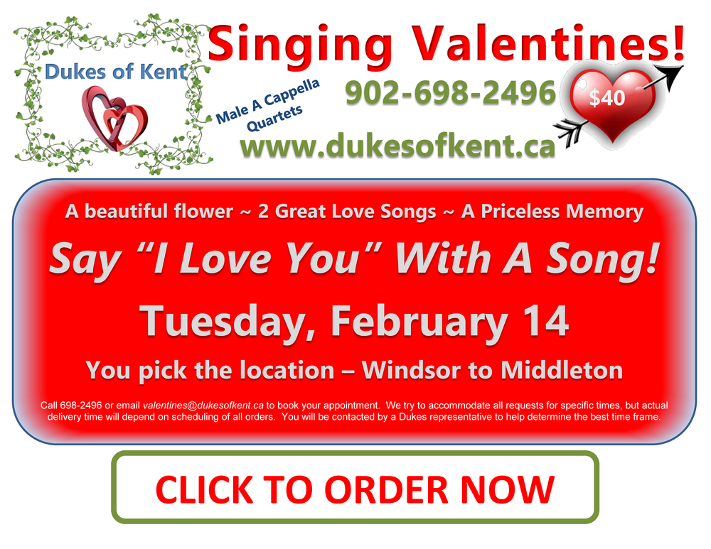 Dukes Singing Valentines