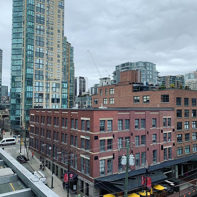 View from my hotel room in Vancouver 🇨🇦