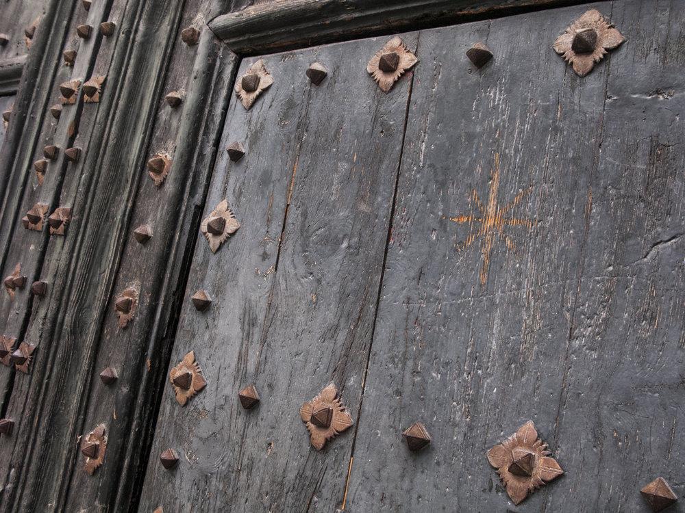 Old Door Girona