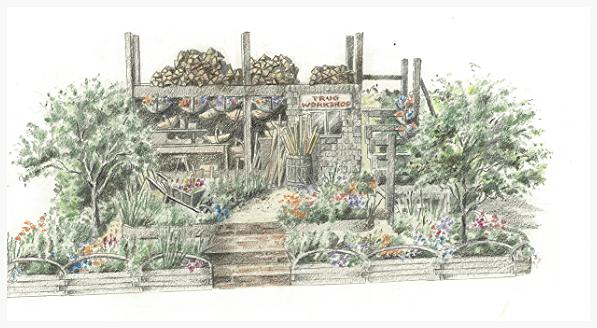 The Trugmaker's Garden - RHS Chelsea Flower Show 2015