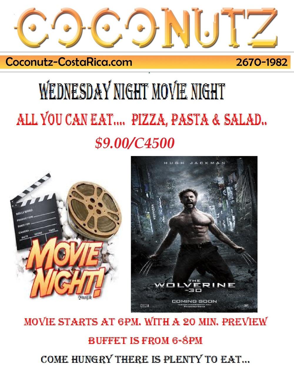 WEDNESDAY NIGHT MOVIE wolverine...jpg