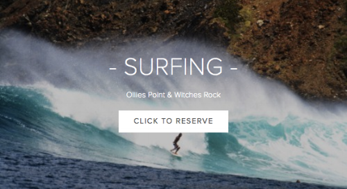 Surfing - Withes Rock & Ollie's Point