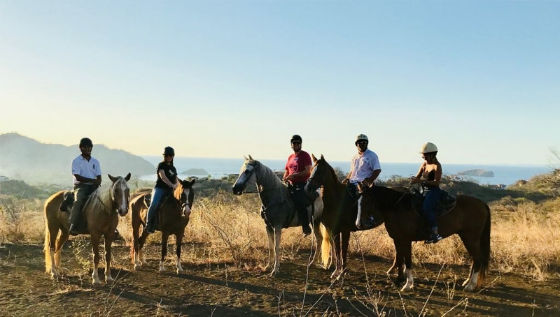 Horseback BBQ Sunset Ride