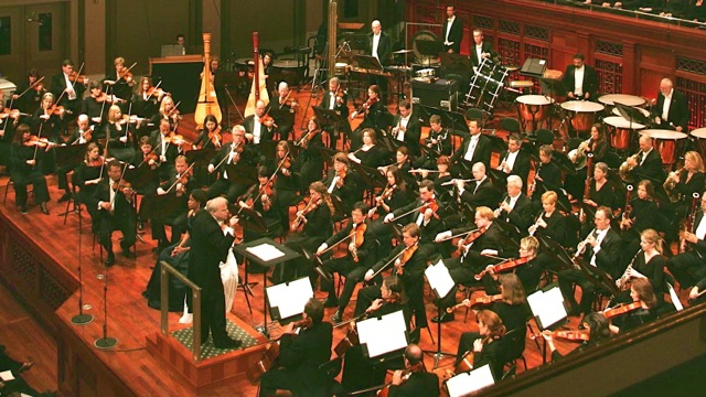 On stage with The Nashville Symphony