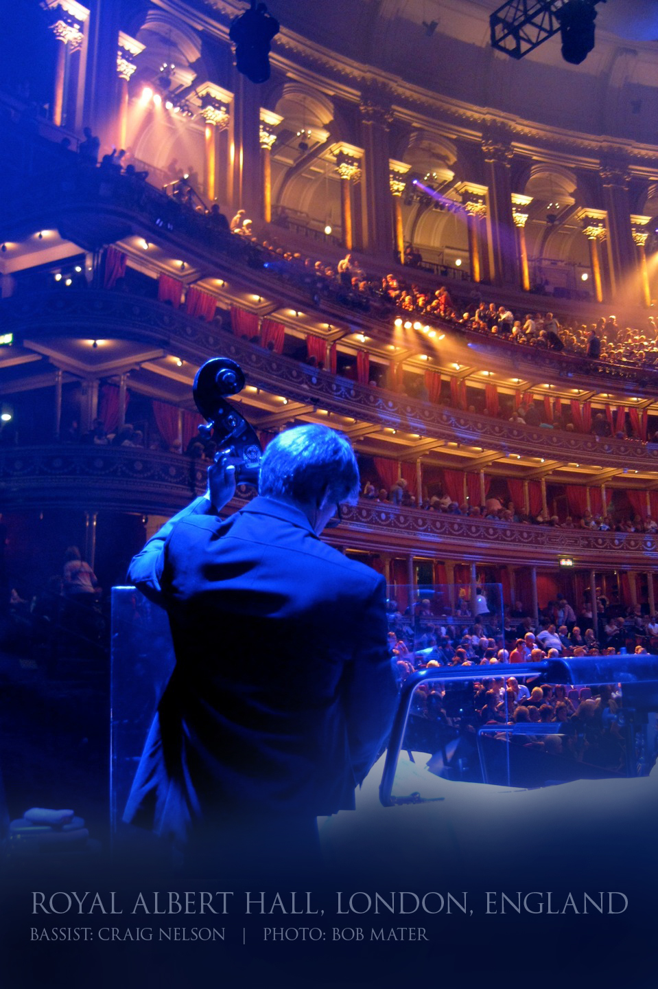 Craig Performing in Royal Albert Hall, London, England.