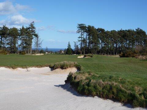 Golf Hole #4 -Roundel