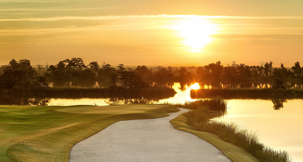 Golf Hole #10, Par 4, 354 Yards  (Photo Courtesy of Ford Plantation)