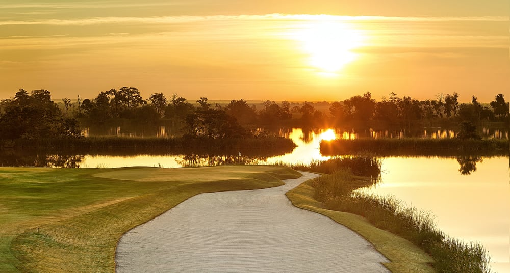 Golf Hole #10 at Ford Plantation in Savannah, Georgia (Project architect for Pete Dye). We remodeled the golf course in 2013. It was recognized as one of the best new courses by Golf Digest in 2014.