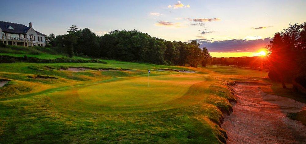 Golf Hole #9, Craigtoun, Par 4,417 yards