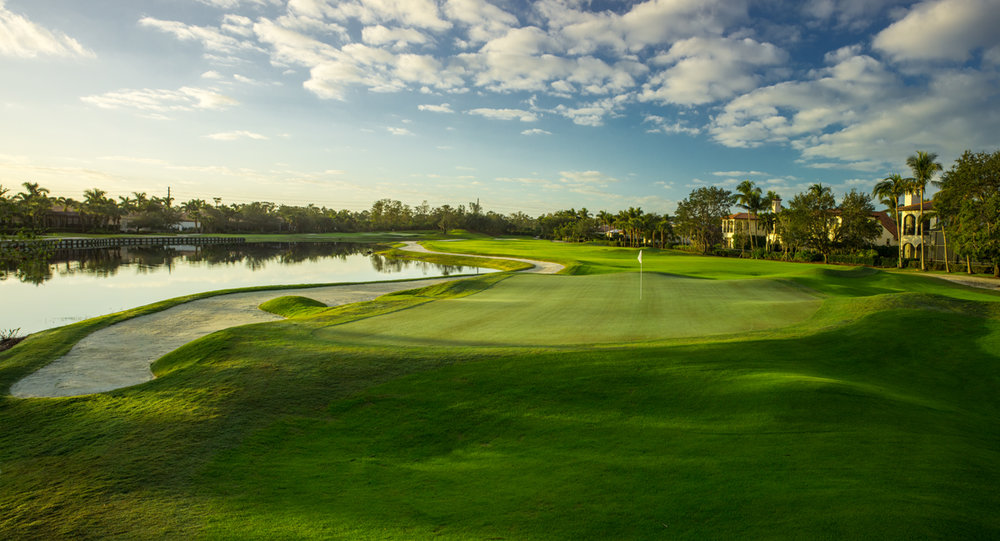 Estuary Golf Course at Grey Oaks Country Club, Naples Florida (photo by Laurence Lambrecht)