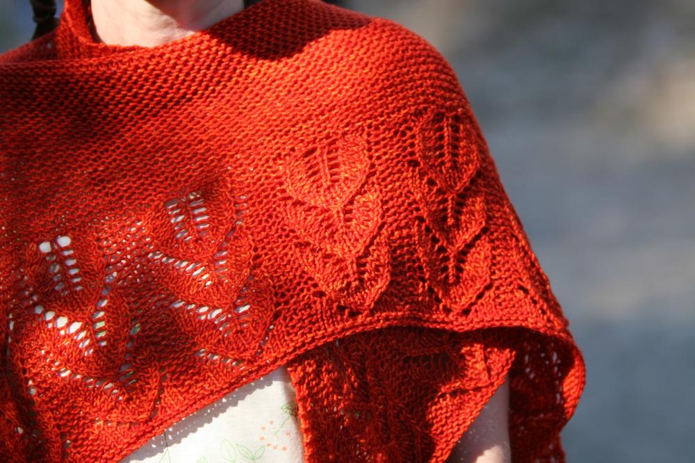 Green Gables shawl kit