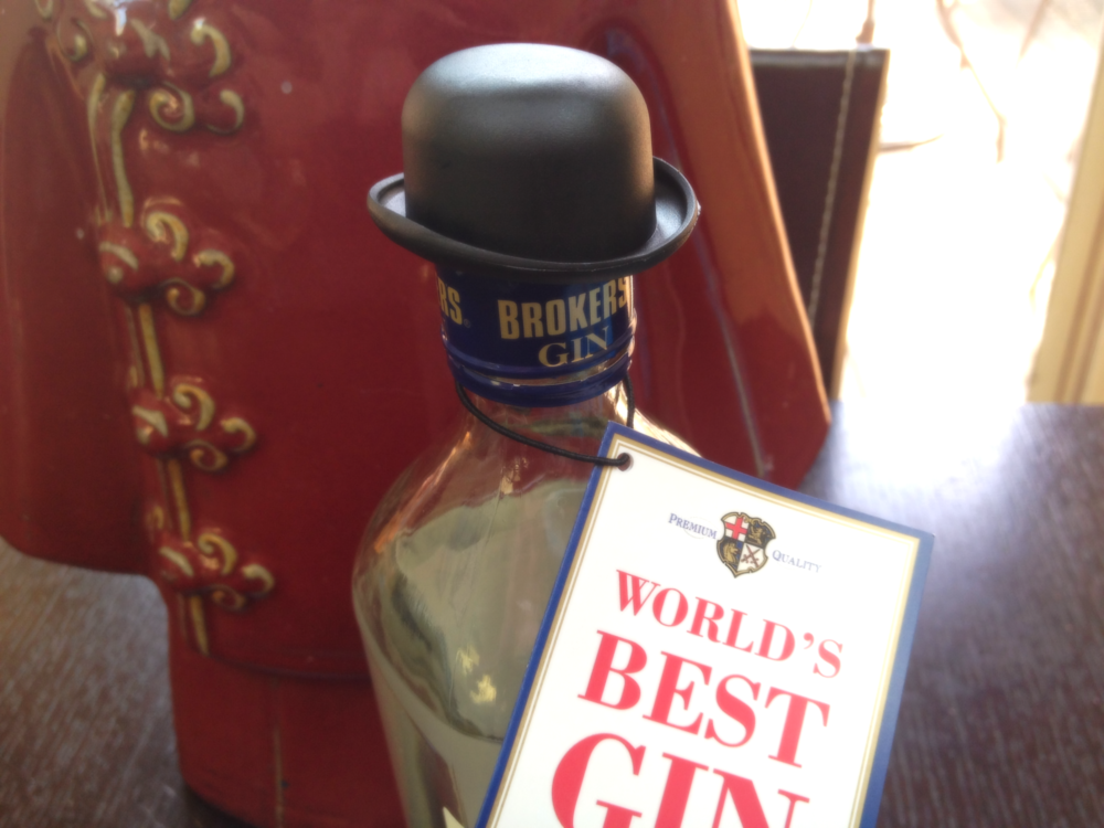 Hat-tip to the best gin in the world