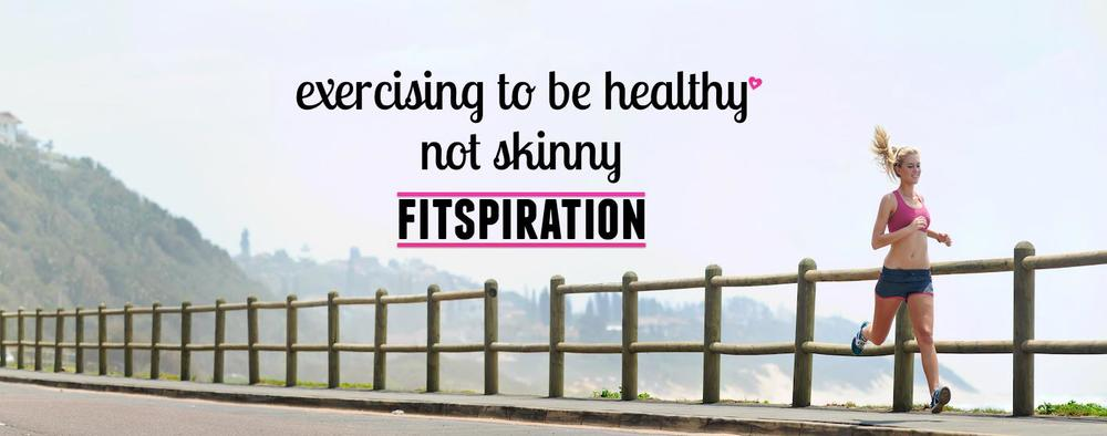 Annoying frilly pink stuff? Check. Contradictory message? Check. Skinny white woman doing cardio? Most definitely. Do you even know what healthy is?