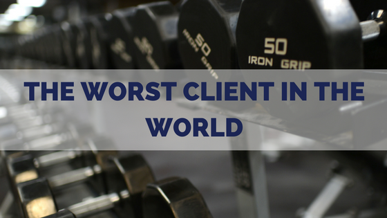 worst-client-dumbbell-gym-weight