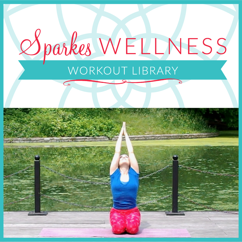A YEAR membership to the Sparkes Wellness Workout Library with Elyse Sparkes