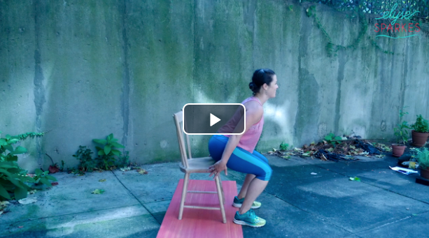 Lower Body w/Chair - 14 min Blast Workout