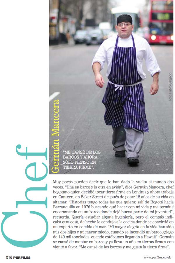 el chef que paró el tránsito en Londres