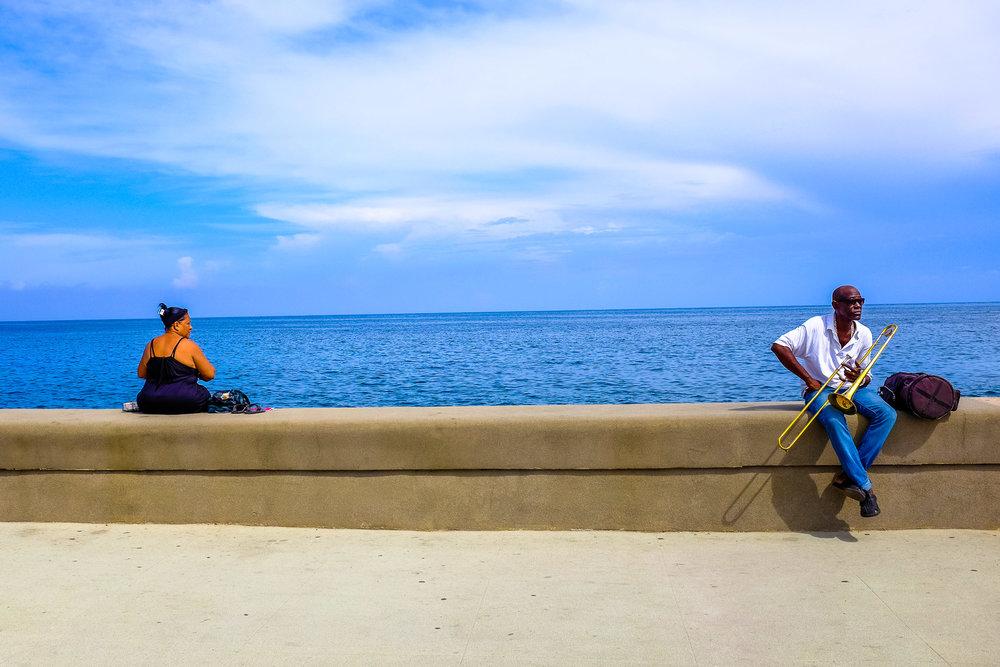 """""""La esperanza y la resignación"""" - La Habana, Cuba. Foto: Pablo Salgado."""
