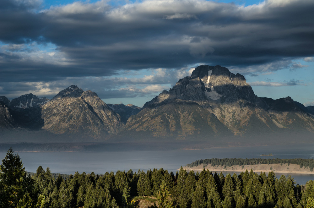 Mount Moran and The Snake River