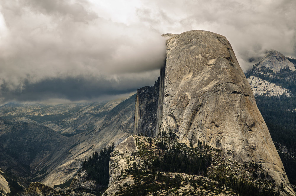 A View of Half Dome