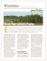 WOODY PLANT CONTROL IN PRAIRIES