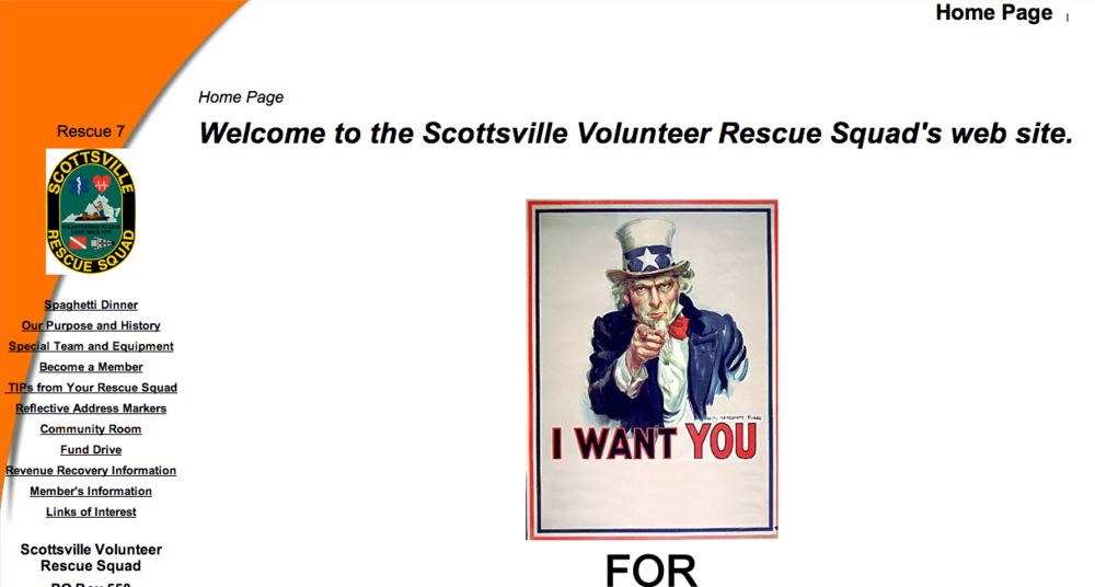 Scottsville Volunteer Rescue Squad - Rescue 7