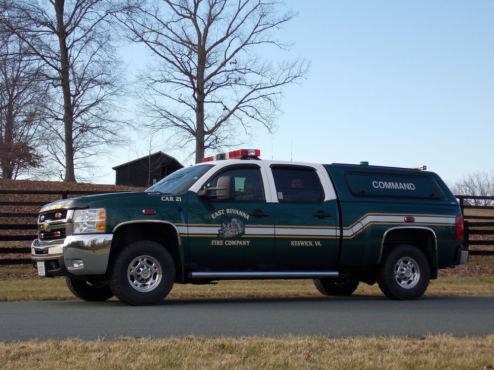 2008 Chevrolet 2500 Chief's vehicle/Incident command vehicle