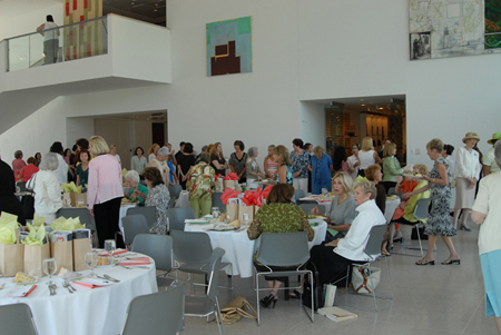 Close to 150 people attended this year's event at the Knoxville Museum of Art.