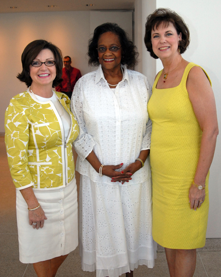Board members Teresa Scott, Henrietta Grant and Rosemary Gilliam enjoy the event.