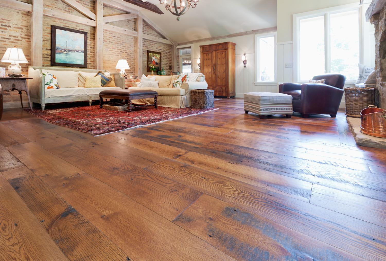 WidePlank Hardwood Flooring Hitson And Company - Wide hardwood flooring