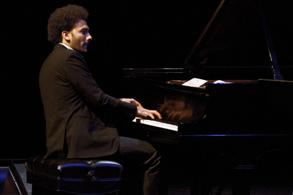 "David Virelles scored my short film ""Solace"". He's in Los Angeles but can't make the screening because he is playing with Ravi Coltrane http://www.uclalive.org/calendar/event_detail.asp?id=142"