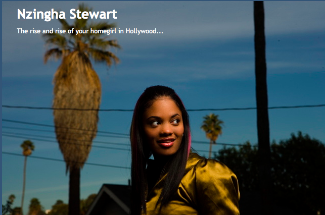 Nzingha Stewart's blog - supporting the film BIG TIME click on the link to see her post!    She has the best posts about being an artist, filmmaker, workshops in LA to go to for writing, motivational posts to get you to JUST DO IT!! follow her on twitter@zingbling   and here's her website  www.nzinghastewart.com