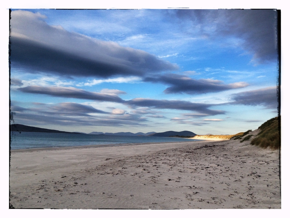 'Sunset' - West Beach, Berneray, 2013