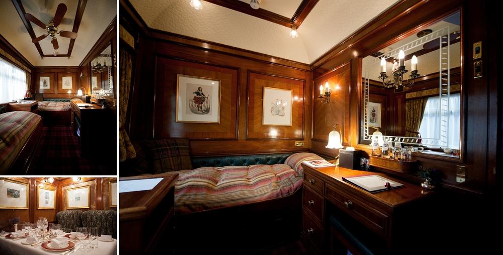 The Royal Scotsman Train - Cabin