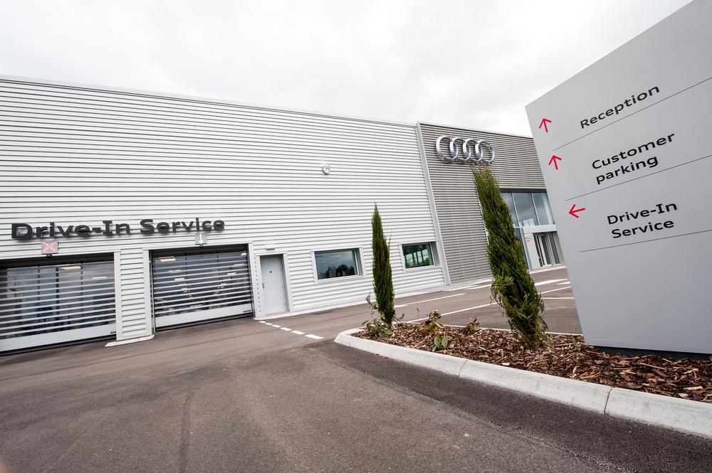 Audi Centre Exterior