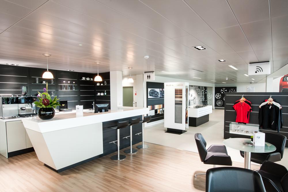Audi Centre Reception Area